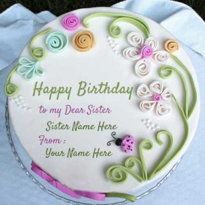 Write Name On Birthday Wishes Cake