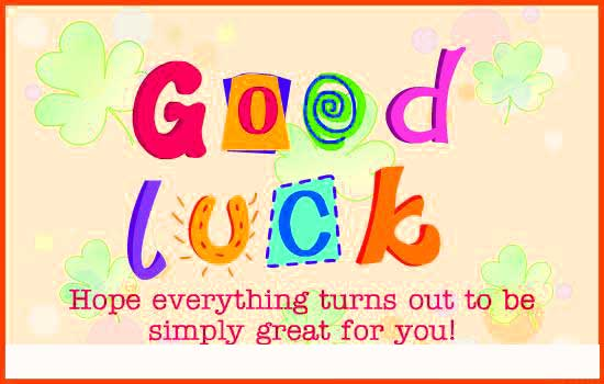 Top All The Best Good Luck Images Photo Pics Wallpaper Download For Whatsaap
