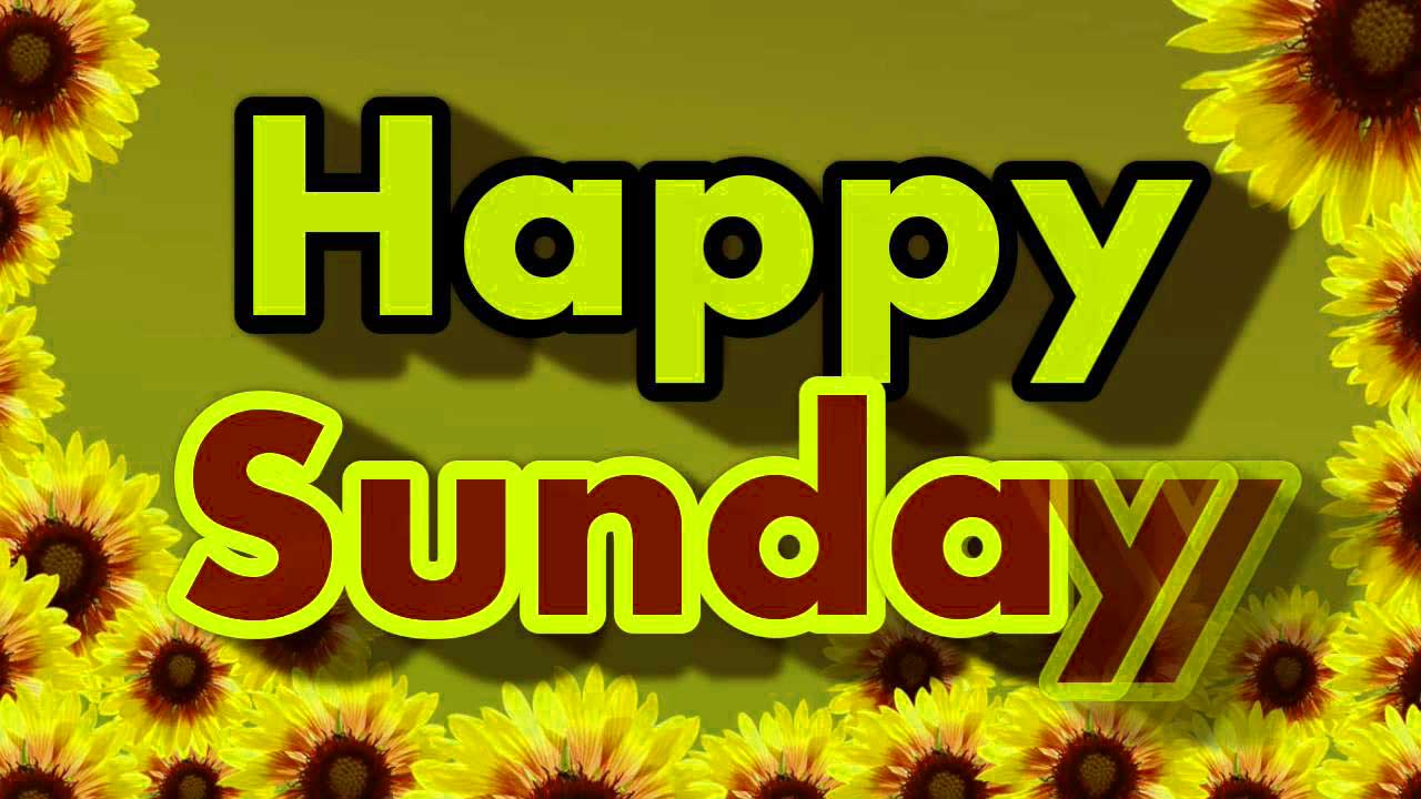 HD Happy Sunday Photo Download