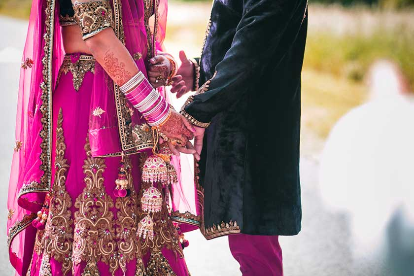 112+ Punjabi Couple Wedding Images Wallpaper Photo Free Download