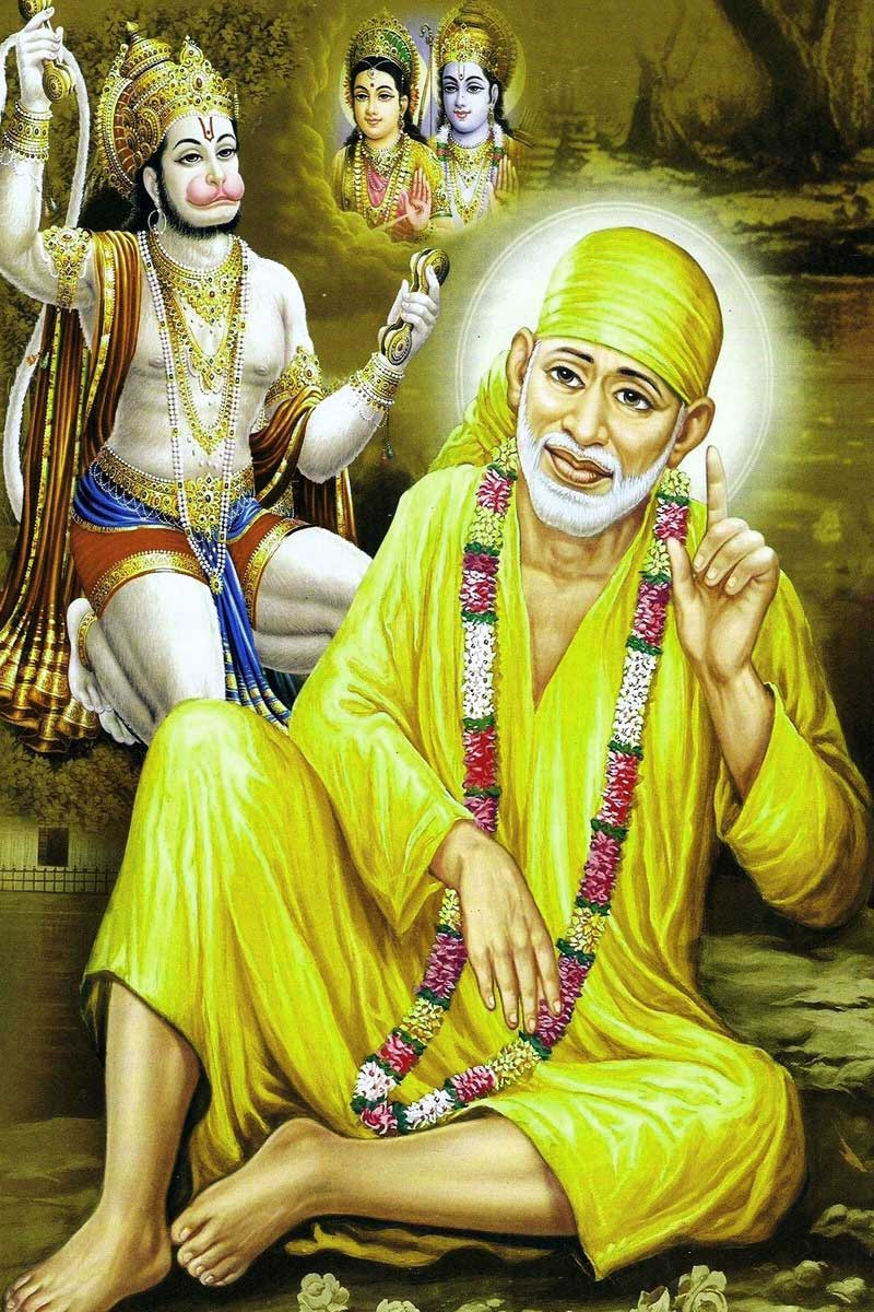 sai baba images pictures