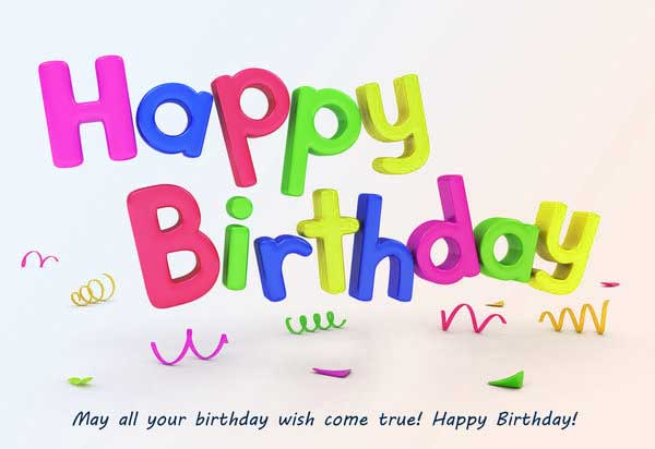 Happy Birthday Picture free Download