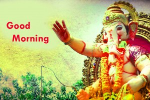 God Ganesha Good Morning Photo