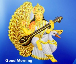 saraswati jI  Good Morning Images