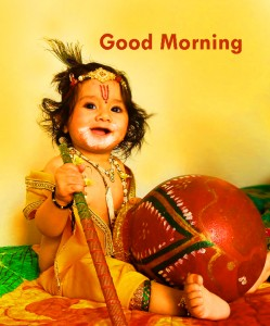 Bal Krishna God Good Morning Photo Download
