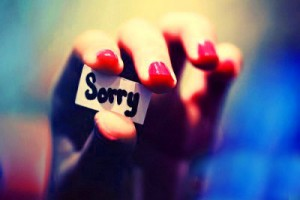 Sorry Wallpaper Picture Free Download