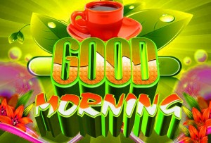 BeautifulGood Morning 3d Images Pics Pictures Wallpaper Download For Whatsaap With Flower