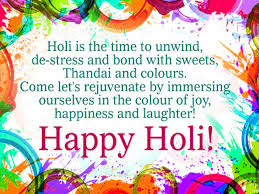 Holi Images Wallpaper With Quotes