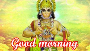 Hanuman ji Mangalwar good morning images