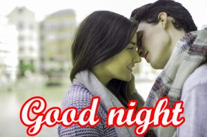 Romantic Lover Good Night Images With Sweet Love Couple