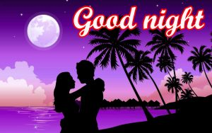 Romantic Lover Good Night Images Photo Pics HD