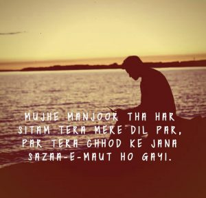 Hindi Love Sad Romantic shayari images Foto Download