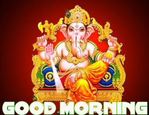 god ganesha good morning Wishes images Wallpaper Pictures HD Download