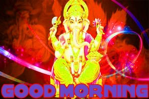 god ganesha good morning Wishes images Wallpaper Pics Download for Whatsapp