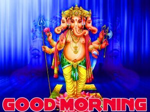 god ganesha good morning Wishes images Pics HD Download For Whatsapp