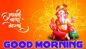 Lord ganesha good morning images Pictures Wallpaper Download