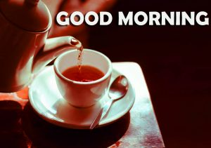 Good Morning Images Wallpaper With Tea Cup Early Morning