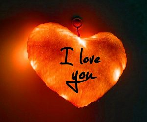 Whatsapp DP Profile Images Wallpaper With I love you
