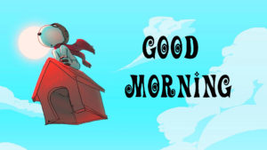 Snoopy Good Morning Wishes Images Wallpaper Pics