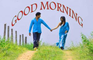 Good Morning Images for Romantic Love Couple HD Download