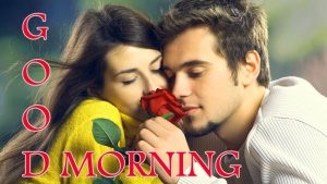 Good Morning Images for Romantic Love Couple For Facebook