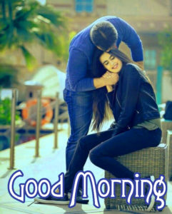 Romantic Couple Good Morning Images Wallpaper Pics Download for Facebook