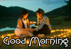 Romantic Couple Good Morning Images Photo Pic Download