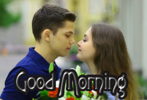 Romantic Couple Good Morning Images Pictures Wallpaper Free
