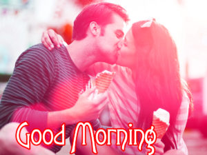 Romantic Couple Good Morning Images Wallpaper Pic Download