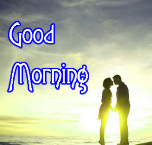 Romantic Couple Good Morning Images Photo for Facebook