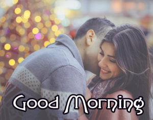 Romantic Couple Good Morning Images Wallpaper Pic for Facebook