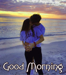 Romantic Couple Good Morning Images Pics Wallpaper Free Download