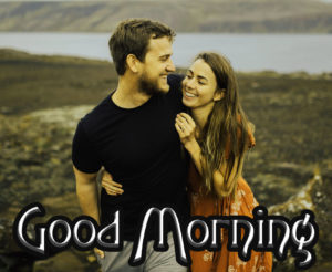 Romantic Couple Good Morning Images Wallpaper Pics Download