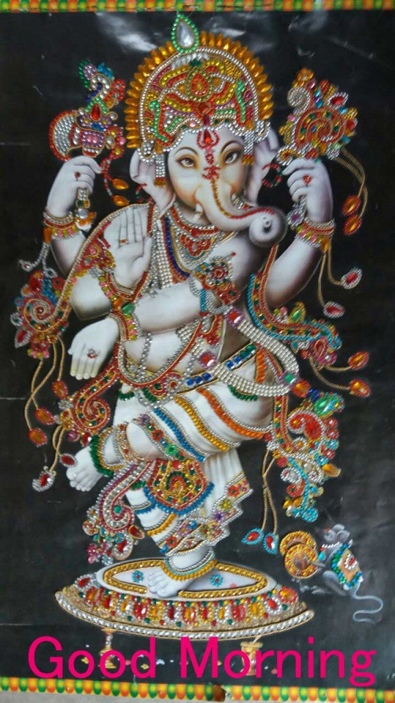 good morning images Ganpati