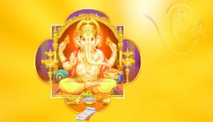 good morning images with ganesha