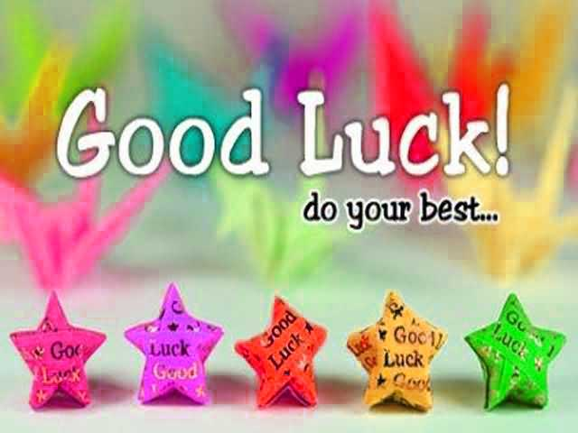 New all the best and good luck quotes images gallery