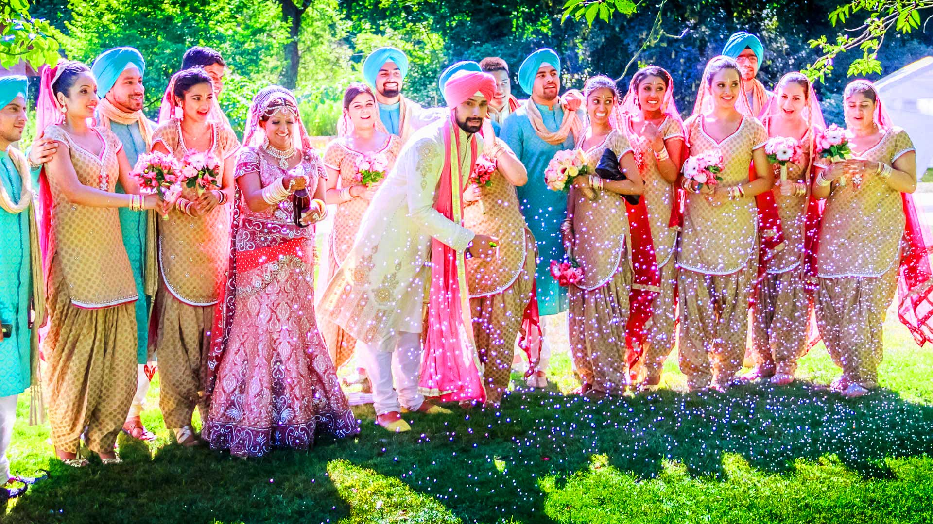 Punjabi Couple Wedding Moment
