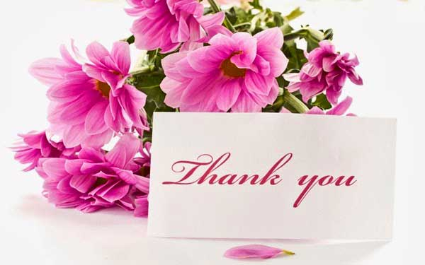 flowers-thank-you Photo Download