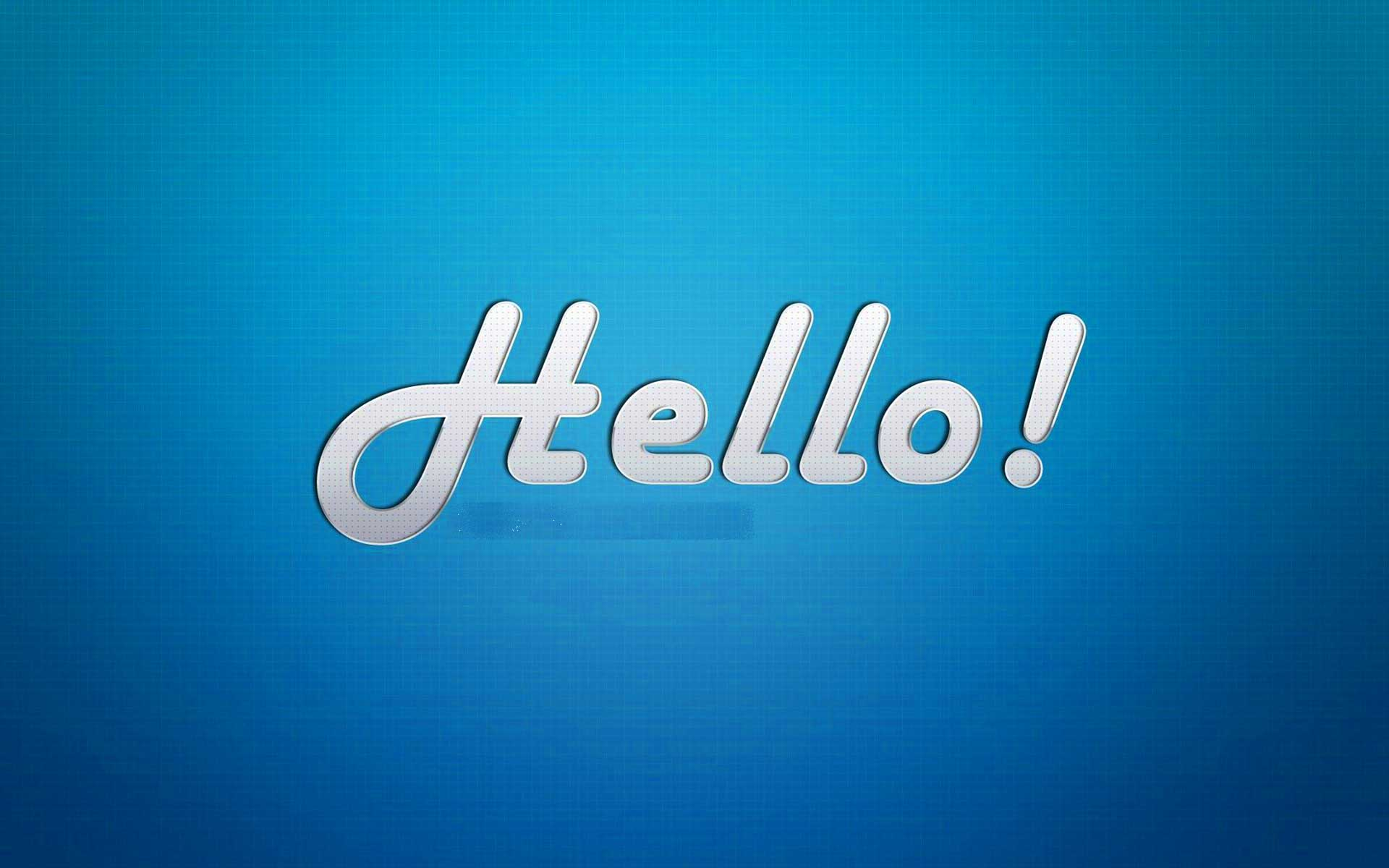 HI/Hello Good Morning Images Wallpaper Pics Pictures Photo HD Download For Whatsaap