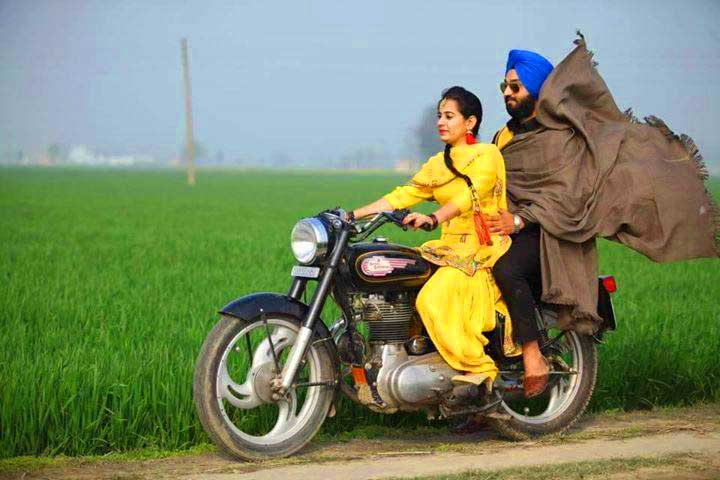 punjabi couple pic hd