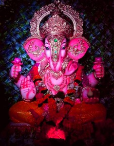 ganpati wallpapers in black background for Whatsaap