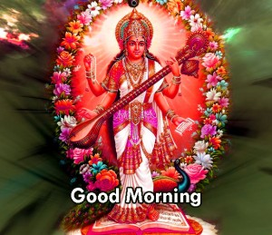 sarsawti god good morning photo download