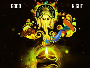 ganesha-good-night-photo Images Pictures Wallpaper HD Download