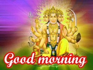 Hanuman ji Mangalwar good morning images HD