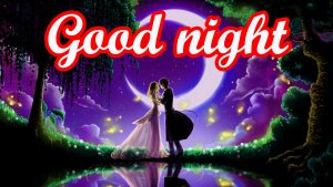 Romantic Lover Good Night Images Wallpaper HD Download