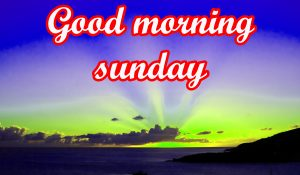 Sunday Good Morning Images PICTURE
