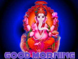 god ganesha good morning Wishes images Pictures Free Download