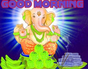 god ganesha good morning Wishes images Wallpaper Pictures Free Download
