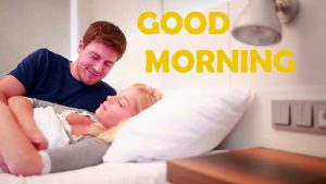 Good Morning Wishes Images Wallpaper Pic With Romantic Lover