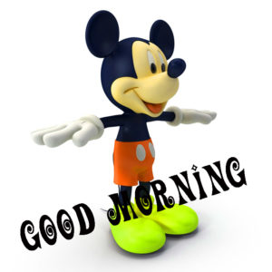 Good Morning Wishes Images Photo with Mickey Wallpaper HDNew Best